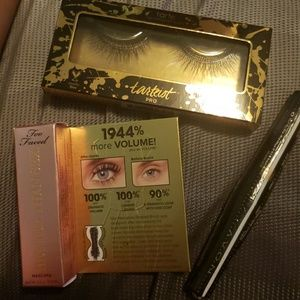 Too Faced Mascara Tarte bundle